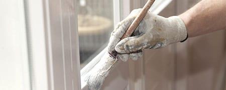binnendeuren en buitendeuren verven
