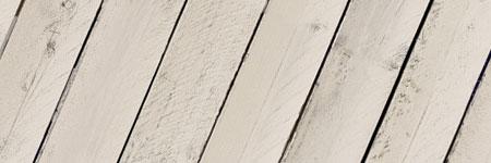 houten vloer wit verven