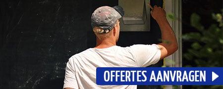 kozijnen van huis schilderen