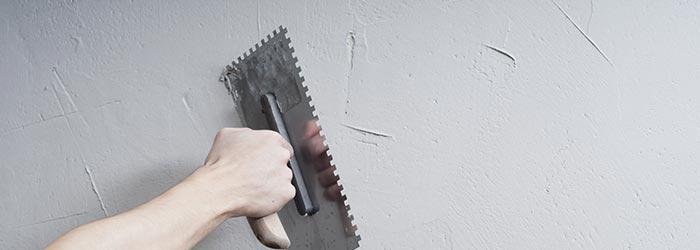 muur stucen
