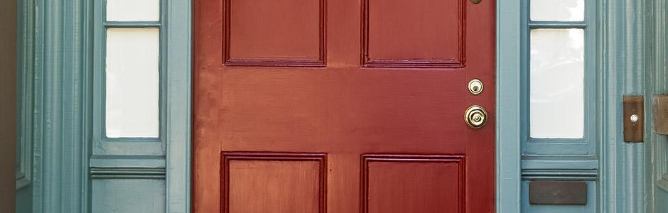 Voordeur schilderen