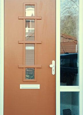 zelf deur schilderen